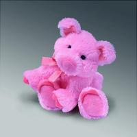 Quality Valentine's Day Toys Pink Plush Pig for sale