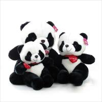 Quality Valentine's Day Toys Lovely Stuffed Panda for sale
