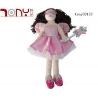 Quality Plush Stuffed Dolls Long Hair Doll for sale