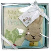 Quality Night Night Peter Rabbit Luxury Cloth Book - Beatrix Potter for sale