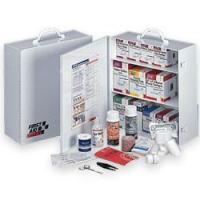 Quality 100 Person / 3 Shelf First Aid Station for sale