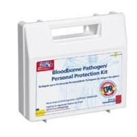 Quality 25 Piece, Bloodborne Pathogen - Personal Protection Kit / with Microshield for sale