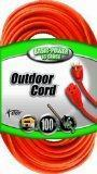 China Coleman Cable 02309 16/3 Vinyl Outdoor Extension Cord, Orange, 100-Feet on sale