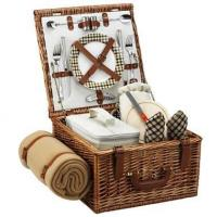 Quality Picnic at Ascot - London Cheshire Basket for Two w BlanketItem #: 344503 for sale