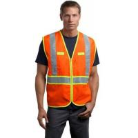 China ANSI Class 2 Dual-Color Safety Vest on sale