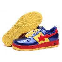Bape Cartoon shoes blue / red / yellow
