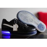 Buy cheap Mens Nike Air Force One Ventilate Low Cut Shoes In Black from wholesalers
