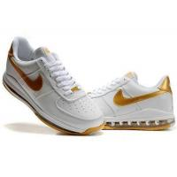 Buy cheap Mens Air Force 1 Air Cushion Sneaker Shoes In White Golden from wholesalers