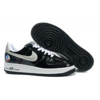 Nike Air Force 1 All-Star 2010 QS Black Metallic Silver White for sale