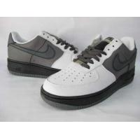 Nike Air Force One Low Mens Shoes in White and Grey for sale