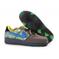 Nike Air Force 1 Low Premium Green Brown Mens Shoes for sale