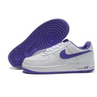 Nike Air Force 1 Low White Purple Mens Shoes for sale