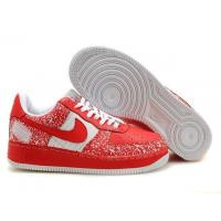 Nike Air Force 1 Low Notebook Edition Varsity Red White Mens Shoes for sale
