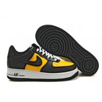 Nike Air Force 1 Low Varsity Maize Black White Mens Shoes for sale