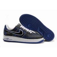 Nike Air Force 1 Low Mr.CARTOON Black Blue Mens Shoes for sale