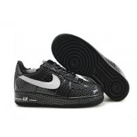 Nike Air Force 1 Low Black Wave Points Mens Shoes for sale