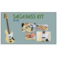 China Saga Do It Yourself JB-12 J Style Fretless 4-String Electric Bass Kit on sale