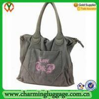 Quality Cotton tote bag High Quality Large Classic Waxed Canvas Tote Bag for sale