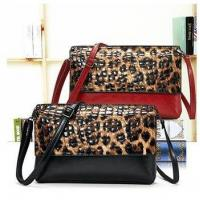 Women gender leopard leather bags fashion clutch evening bags wholesale 2015
