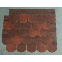 Quality Fish Scale Bitumen Shingle for Mobile House / Living Conditions for sale