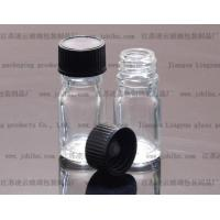 Quality 5ml glass transparent Essential oil bottle with a Bakelite Cover for sale