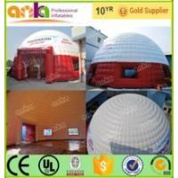Buy cheap Inflatable Tents Custom made giant inflatable party dome tent for sales from wholesalers