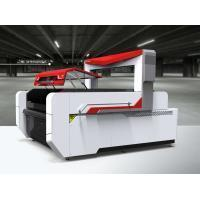 Buy cheap Fabric Laser Cutter for Sportswear / Fly Scanning Laser Cutter for Printed Pattern from wholesalers