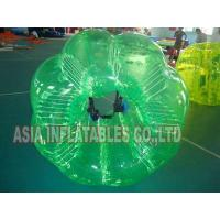 Quality Full Color Green Inflatable Bumper Ball for Sale for sale