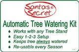 Christmas Tree Stands New 2015! Santas Secret Gift - Automatic Christmas Tree Waterer