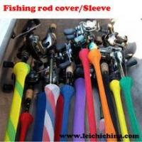 Quality colorful fishing rod covers/sleeves for sale