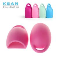China Silicone cleaning makeup brush egg on sale