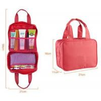 Womens double handles toiletry bag for travel