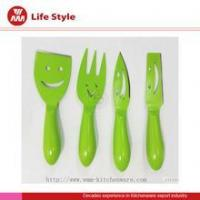 Quality Knife 4Pc color cheese knife set wholesale cheese knife for sale
