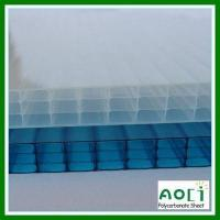 Quality 16MM Fourwall Polycarbonate Roofing Panel for sale