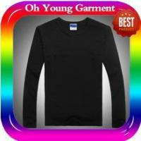 Quality men long sleeve collar t-shirt custom long sleeve t shirt made in china for sale