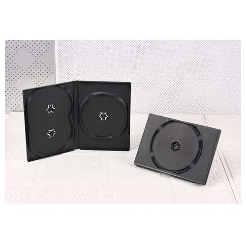 Buy DVD CASES 14mm triple dvd case black at wholesale prices