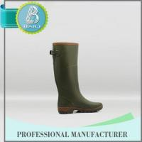 Quality Best selling Low price Removable men's rubber rain boots for sale