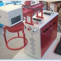 Quality Hand Held Portable Fiber Laser Marking Machine For Meta Products Processing 20w for sale