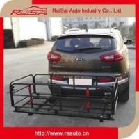 Quality wholesale car accessories steel hitch mounted bike carrier rack for car trunk for sale