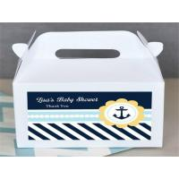 Quality Professional Factory Wholesale Colored Mini Tote Paper Gable Boxes for sale