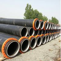 Quality Hdpe dredging pipe with steel ring inside the neck--new design for sale