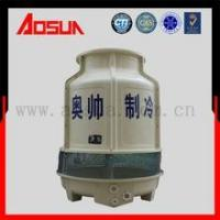 Quality 25T round low noise plastic and frp counter cooling tower for sale