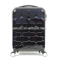 mono tube PC luggage Alibaba shanghai factory 2015 new product pc abs trolley luggage