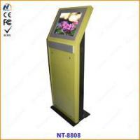 Quality Single Screen queue management electronic Terminal Touch Kiosk for sale