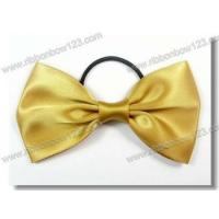 Quality Ribbon Bows on Bottle satin bow tie with elastic for perfume bottle for sale