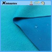 Quality waterproof intetlock bonded with fleece for ourdoor sportswear for sale