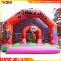 Quality Gaint Jungle Jive inflatable jumping castle/Jungle Jive inflatable castle for kids for sale