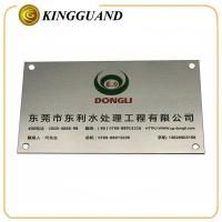 Quality Personalised Senior factory cheap etching steel signs for sale