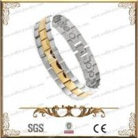 Quality Stainless Steel Magnetic Therapy Bracelet for unisex for sale