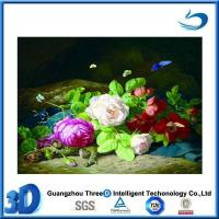 Quality Flower 3d advertising poster in types of flowers pictures with a frame for sale